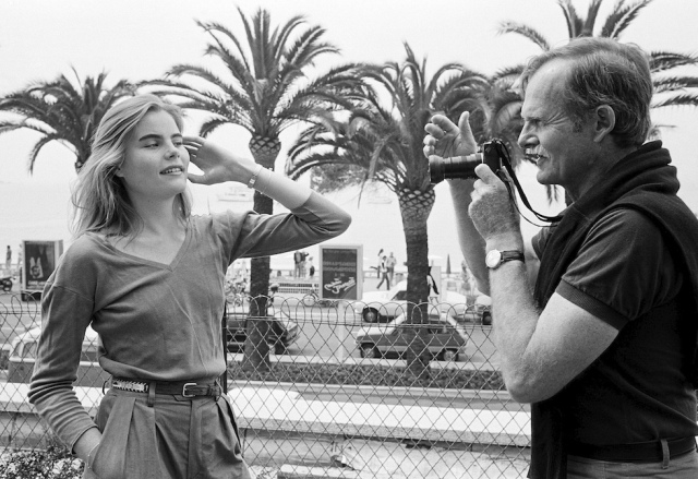 Mariel Hemingway is photographied by her father Jack Hemingway, 1979
