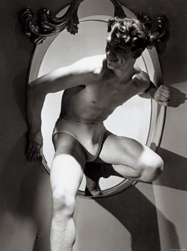 1Jean Marais.Photograph by Raymond Voinquel.