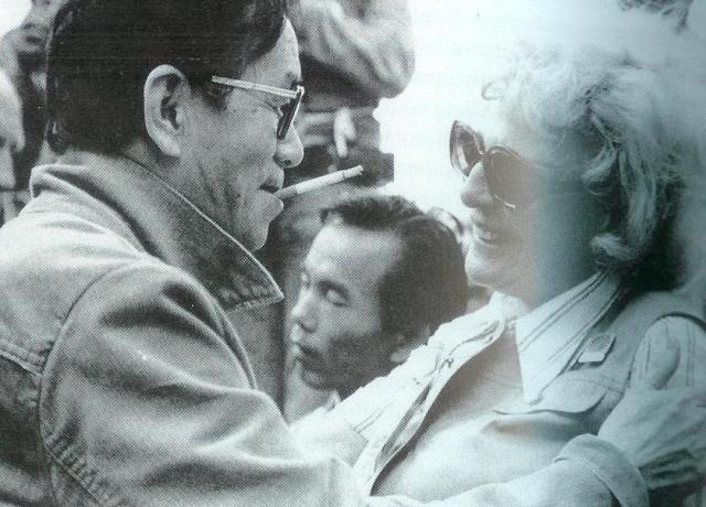 BLOG_Kon Ichikawa with Leni Riefenstahl