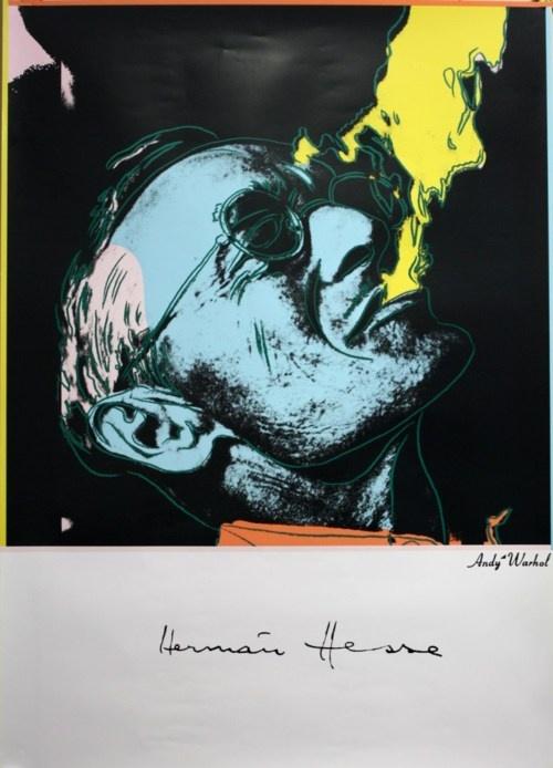 Hermann Hesse by Andy Warhol