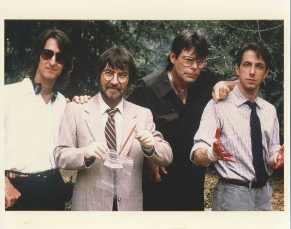 Dario Argento,Tobe Hooper,Stephen King and Clive Barker