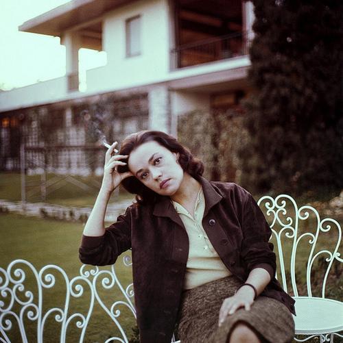 Jeanne Moreau by Milton H. Greene