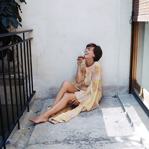 Jeanne Moreau, photographed by Milton Greene, 1963.-2