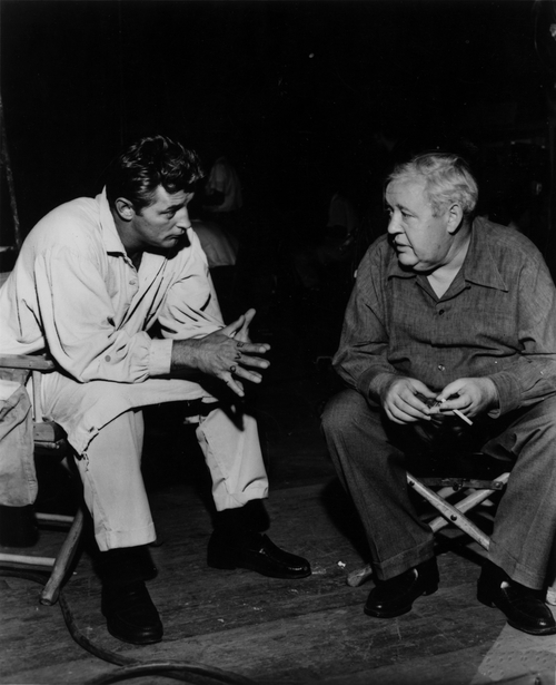 On The Set Of ' The Night Of The Hunter ' 1955-2