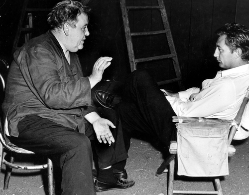 On The Set Of ' The Night Of The Hunter ' 1955-3