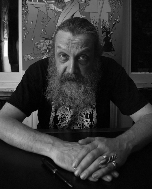 Alan Moore pic by Joel Meadows