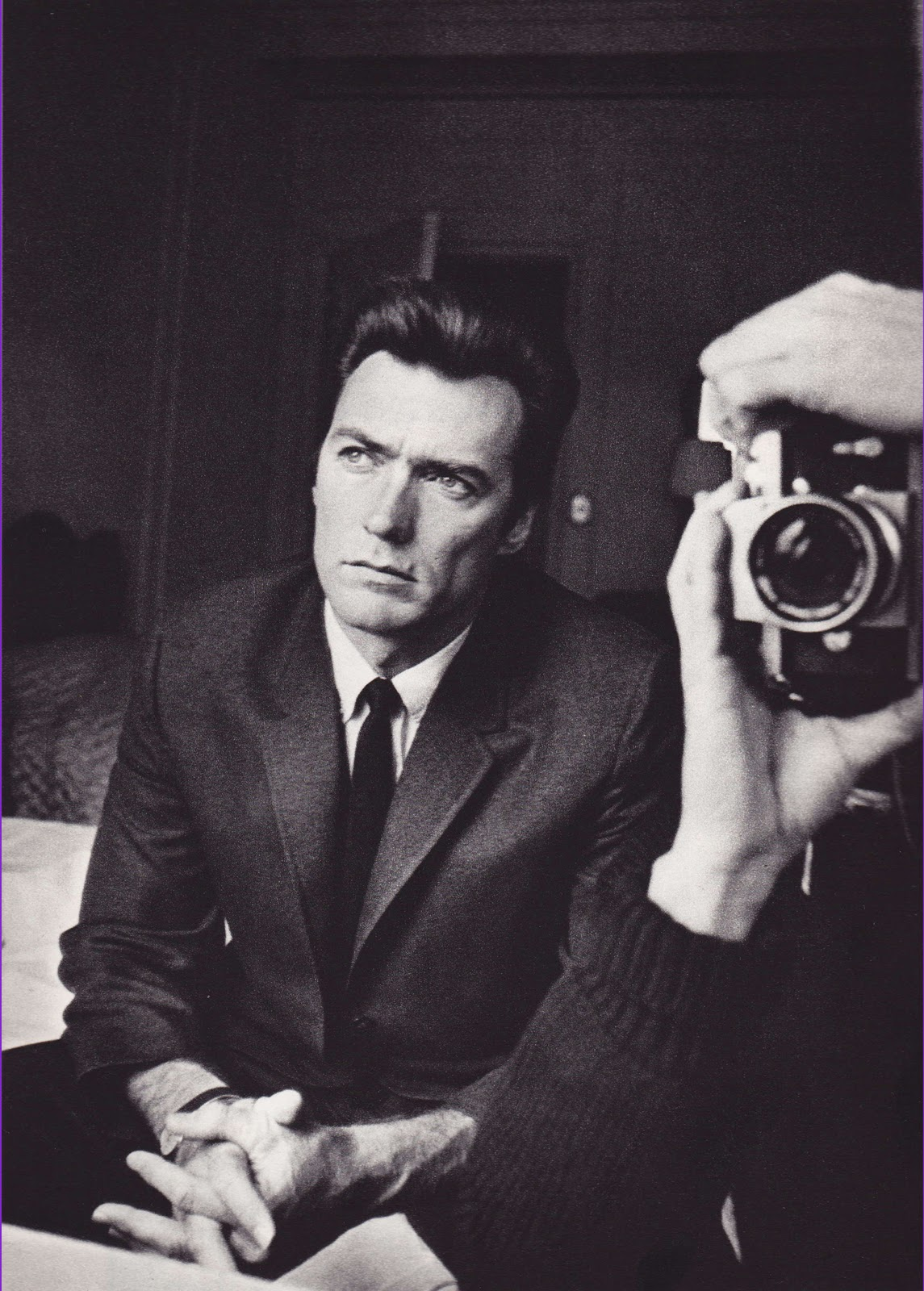 Clint Eastwood and Duane Michals.