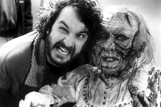 Peter Jackson behind the scenes of Braindead (1992)