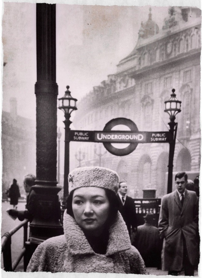 Actress Hideko Takamine in London, 1963