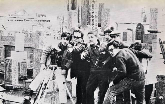 BLOG_Toshio Matsumoto and his crew shooting Bara no Soretsu, 1969
