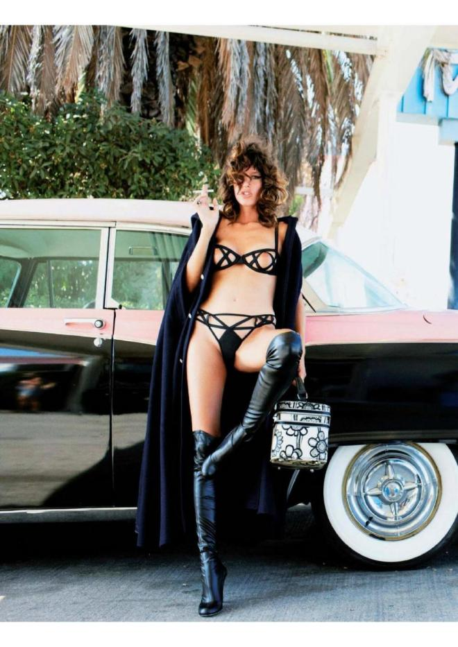 Paz de la Huerta photographed by Ellen von Unwerth for French Playboy, Feb 2009