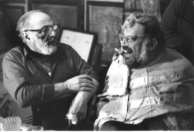 Sergei Parajanov & Allen Ginsberg-1