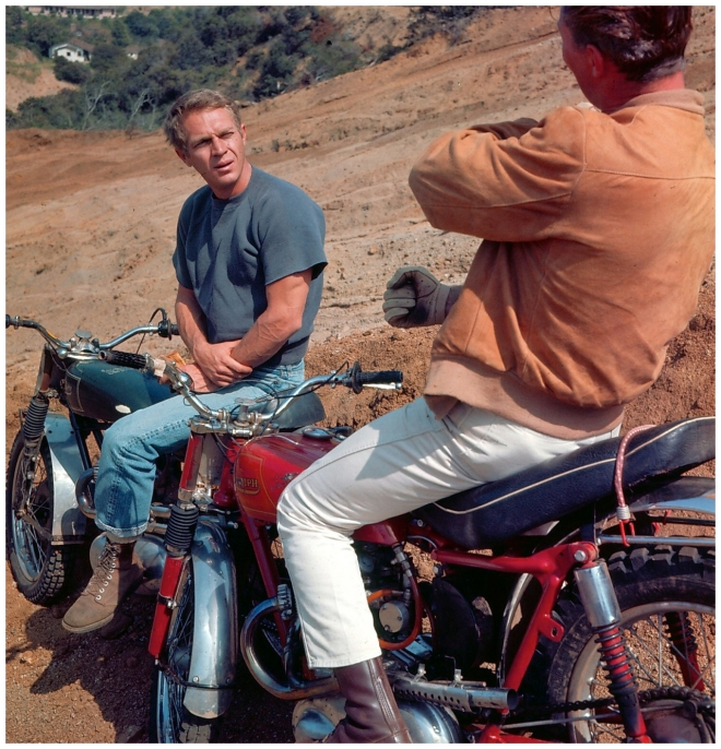 The Great Escape (1963) Directed by John Sturges Shown: Steve McQueen
