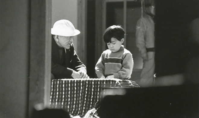 BLOG_On the film set of Yasujiro Ozu's film Good Morning -1