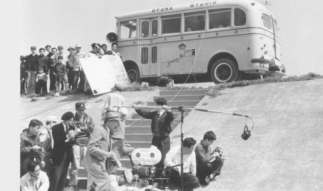 BLOG_On the film set of Yasujiro Ozu's film Good Morning-2