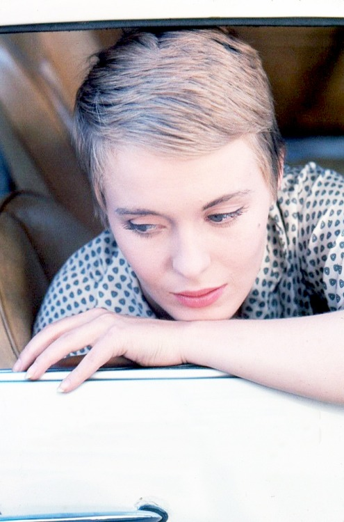 Jean Seberg photographed by Peter Basch, 1961