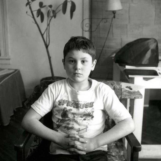 A 7 year old Robert De Niro.