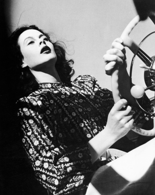 Hedy Lamarr by Peter Stackpole c1947
