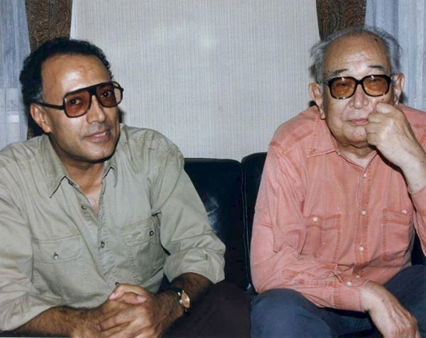 Kiarostami & Kurosawa. mikel guillen