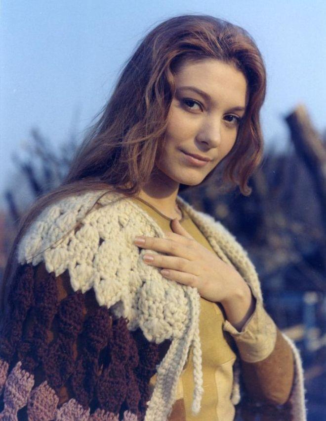 """Natalya Bondarchuk during the shooting of Solaris (1972) """""""