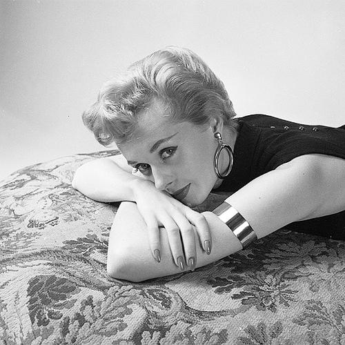 Tippi Hedren, photographed by Milton Greene, 1953.