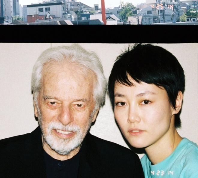 Alejandro Jodorowsky and Rinko Kikuchi in Tokyo
