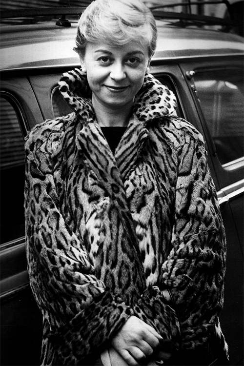 Giulietta Masina photographed by Marcel Thomas
