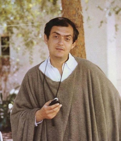 Stanley Kubrick on the set of Spartacus