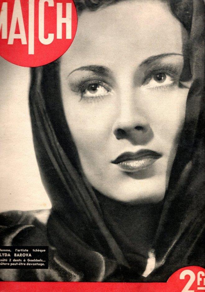 Lída Baarová (7 September 1914 – 27 October 2000) was a Czech actress and mistress of Joseph Goebbels