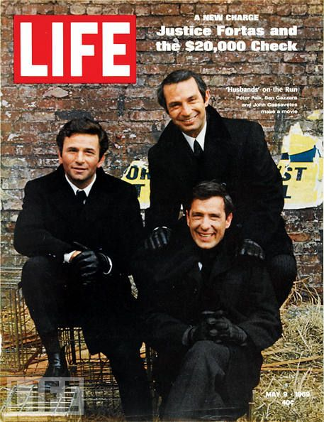 Life Magazine  Peter Falk, John Cassavetes and Ben Gazzara (Husbands, 1970)