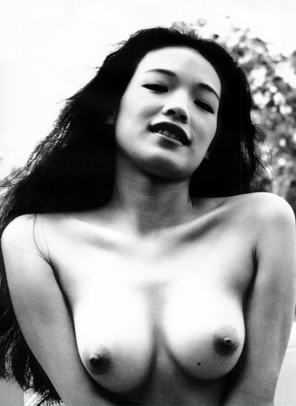 Shu Qi posing for the Taiwanese edition of Playboy.