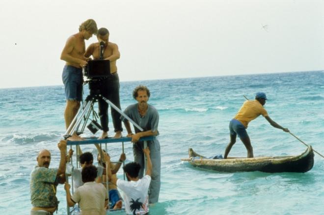 Werner Herzog on the set of Cobra Verde (1987).-5