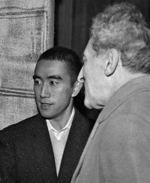 Yukio Mishima et Jean Cocteau