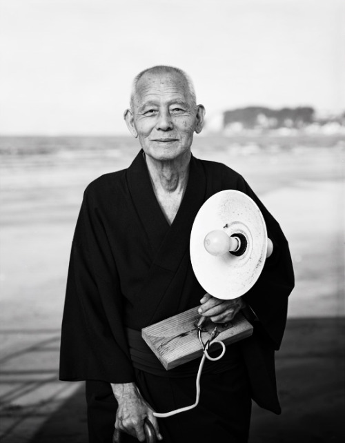 Chishu Ryu, 1991.Photo by Kazumi Kurigami