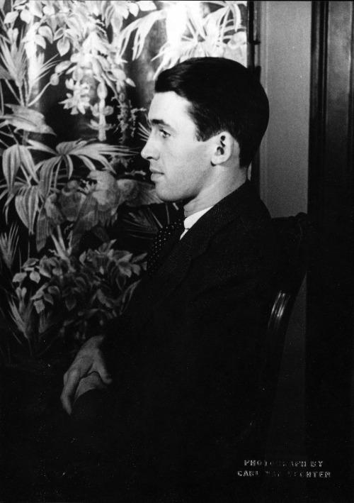 """James Stewart"""" by Carl Van Vechten, c. 1934-1"""