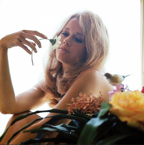 Jane Fonda photographed by Milton Greene, 1960-3
