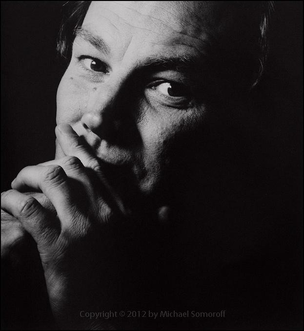 Klaus Maria Brandauer by Michael Somoroff