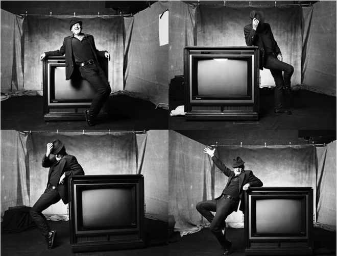 Bob Fosse by Norman Seeff.