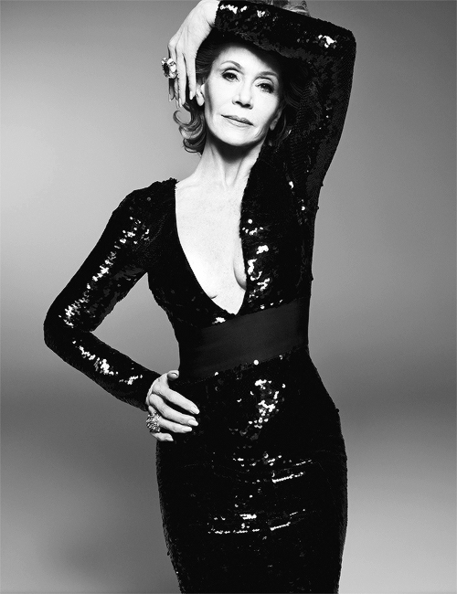 Jane Fonda photographed by Steven Meisel for W Magazine, June-July 2015-2