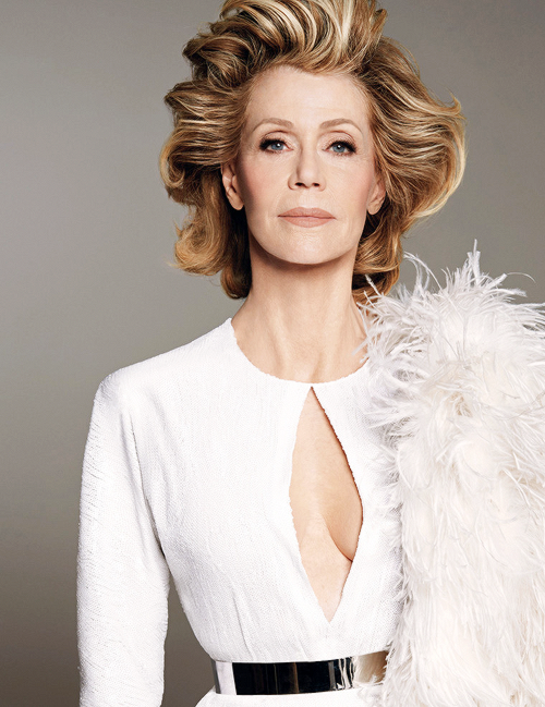 Jane Fonda photographed by Steven Meisel for W Magazine, June-July 2015