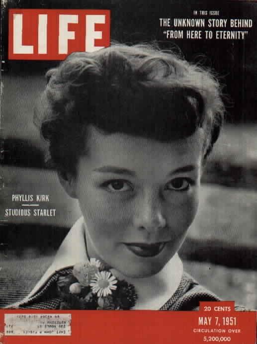 Phyllis Kirk LIFE 1951