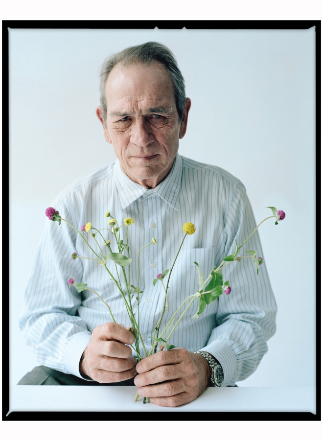 Tommy lee Jones by Tim Walker