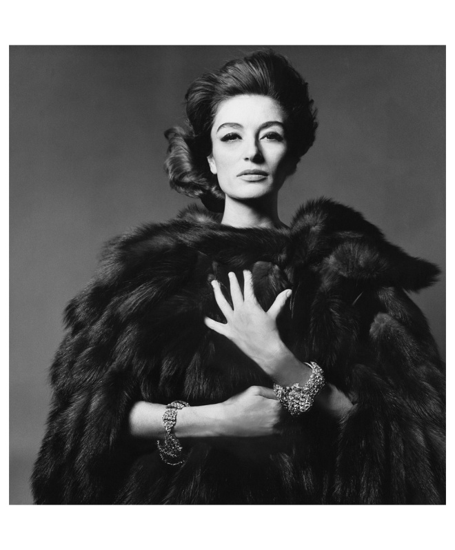 16TH_Anouk Aimée, 1965 Vogue by Bert Stern