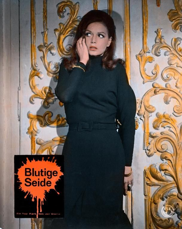 19TH_Sei donne per l'assassino (Blood and Black Lace), 1964 - German lobby card_2