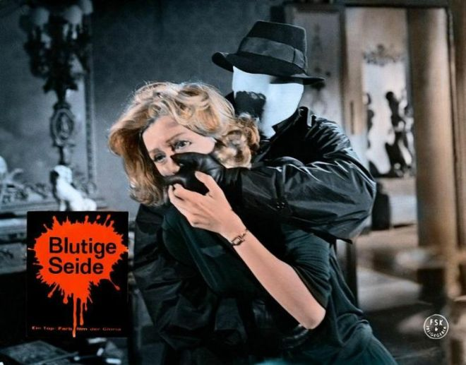 19TH)Sei donne per l'assassino (Blood and Black Lace), 1964 - German lobby card