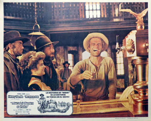 28TH)My Name is Nobody, Mexican lobby card.