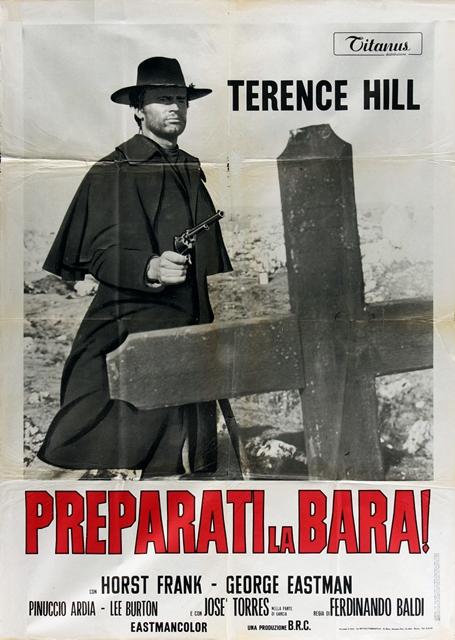 30TH_Italian poster for Django, Prepare a Coffin! (1968).