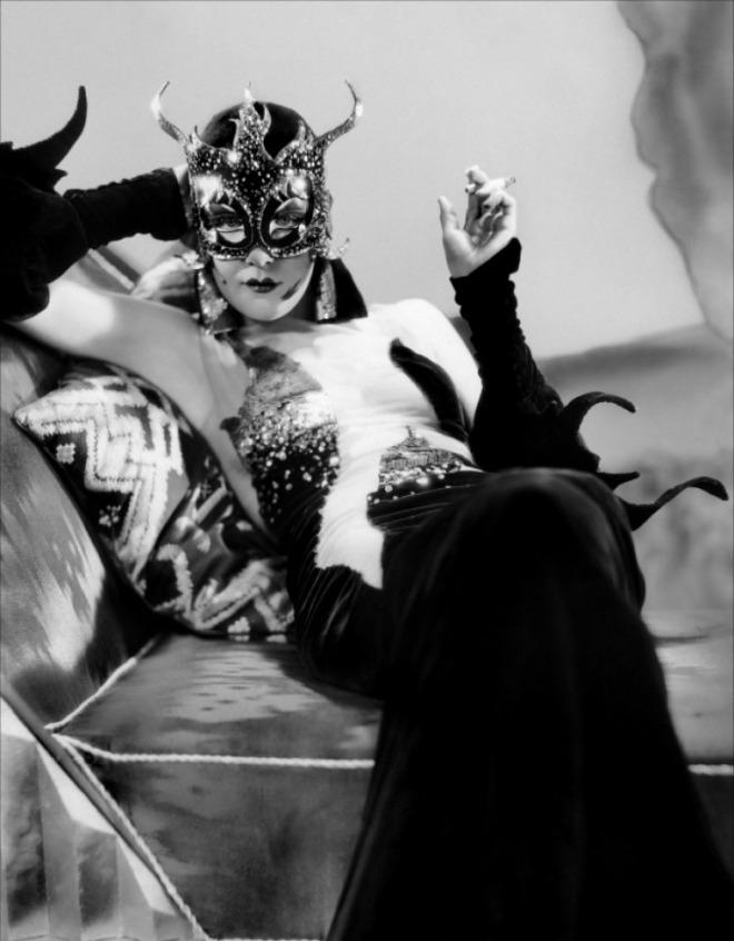 Gilbert Adrian, Kay Johnson in Madam Satan direced by Cecil B.de Mille in, 1930.