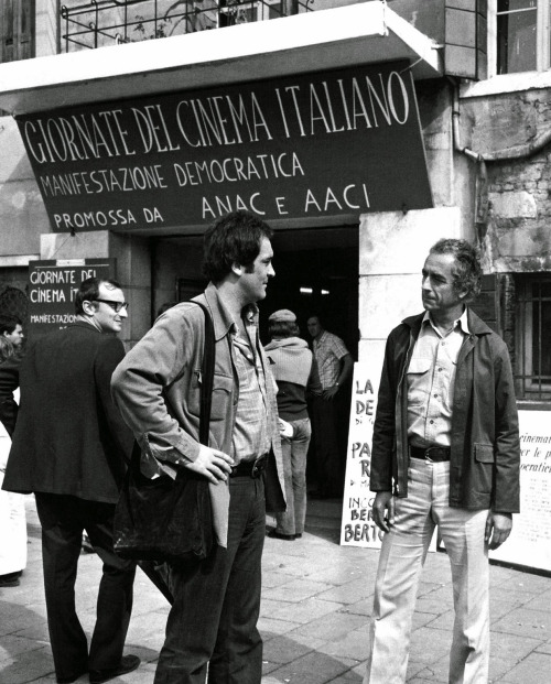 Bernardo Bertolucci & Michelangelo Antonioni