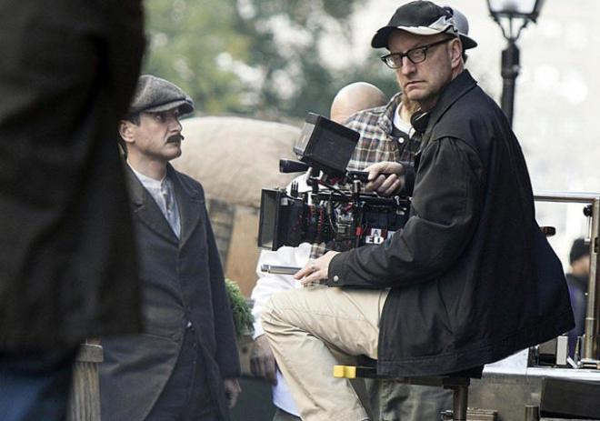 On set of The Knick (Case Conflict)